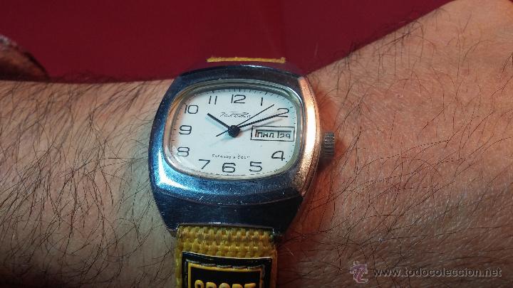 Relojes de pulsera: RELOJ RAKETA DE LA CCCP VINTAGE de CUERDA, IDEAL PARA USO DIARIO, Nº 2628-H - Foto 2 - 53737009