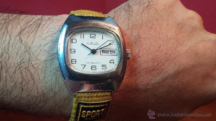 Relojes de pulsera: RELOJ RAKETA DE LA CCCP VINTAGE de CUERDA, IDEAL PARA USO DIARIO, Nº 2628-H - Foto 3 - 53737009