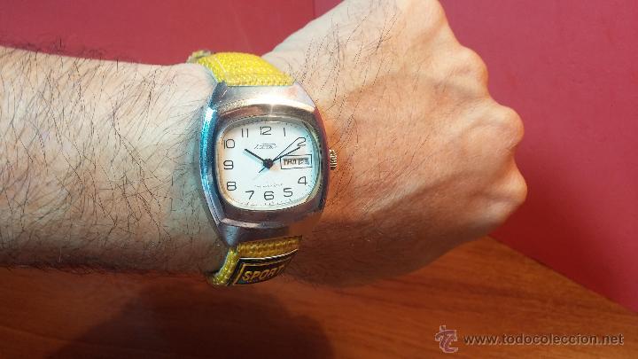 Relojes de pulsera: RELOJ RAKETA DE LA CCCP VINTAGE de CUERDA, IDEAL PARA USO DIARIO, Nº 2628-H - Foto 4 - 53737009
