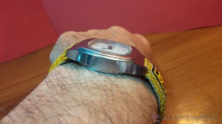 Relojes de pulsera: RELOJ RAKETA DE LA CCCP VINTAGE de CUERDA, IDEAL PARA USO DIARIO, Nº 2628-H - Foto 5 - 53737009