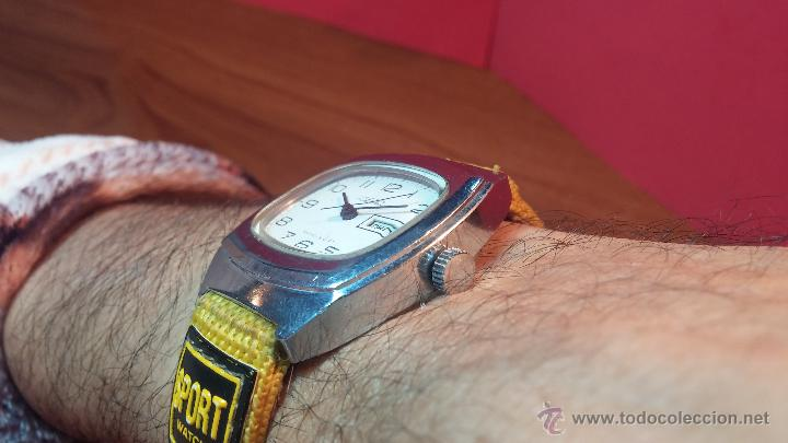 Relojes de pulsera: RELOJ RAKETA DE LA CCCP VINTAGE de CUERDA, IDEAL PARA USO DIARIO, Nº 2628-H - Foto 6 - 53737009