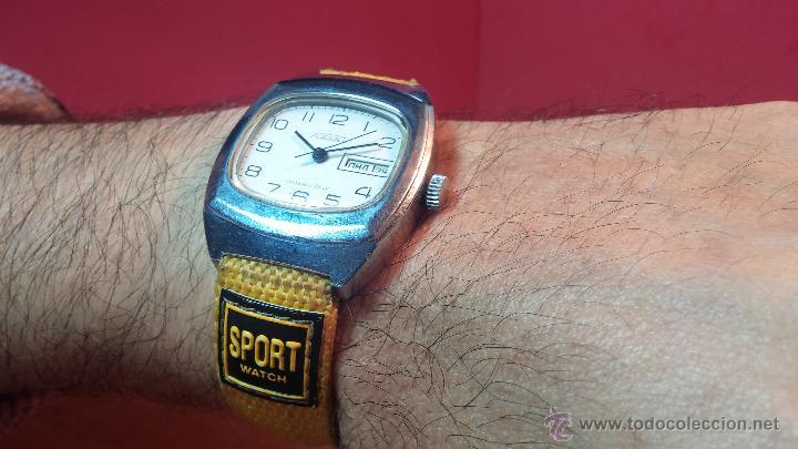 Relojes de pulsera: RELOJ RAKETA DE LA CCCP VINTAGE de CUERDA, IDEAL PARA USO DIARIO, Nº 2628-H - Foto 8 - 53737009