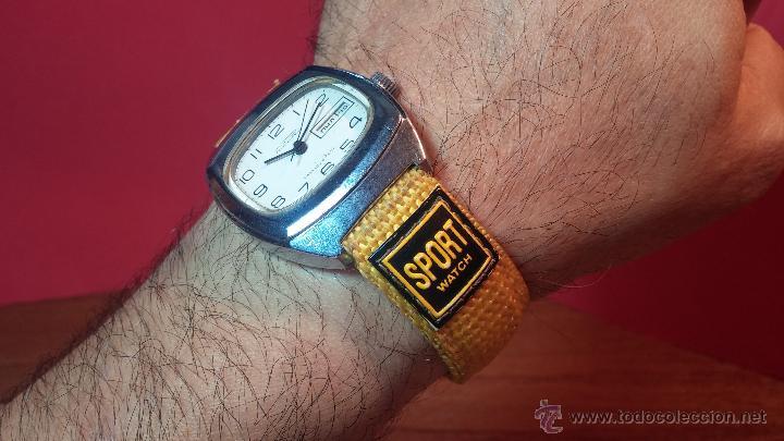 Relojes de pulsera: RELOJ RAKETA DE LA CCCP VINTAGE de CUERDA, IDEAL PARA USO DIARIO, Nº 2628-H - Foto 9 - 53737009