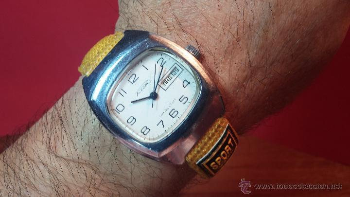 Relojes de pulsera: RELOJ RAKETA DE LA CCCP VINTAGE de CUERDA, IDEAL PARA USO DIARIO, Nº 2628-H - Foto 10 - 53737009
