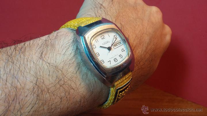 Relojes de pulsera: RELOJ RAKETA DE LA CCCP VINTAGE de CUERDA, IDEAL PARA USO DIARIO, Nº 2628-H - Foto 11 - 53737009