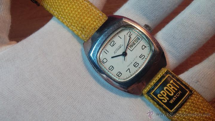 Relojes de pulsera: RELOJ RAKETA DE LA CCCP VINTAGE de CUERDA, IDEAL PARA USO DIARIO, Nº 2628-H - Foto 12 - 53737009