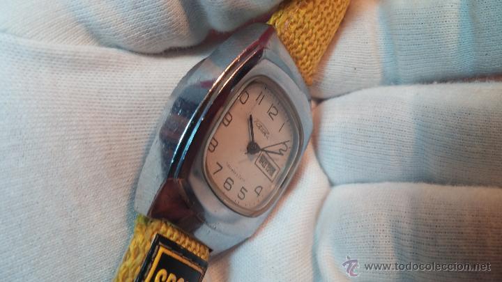 Relojes de pulsera: RELOJ RAKETA DE LA CCCP VINTAGE de CUERDA, IDEAL PARA USO DIARIO, Nº 2628-H - Foto 14 - 53737009