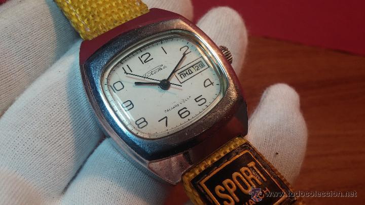Relojes de pulsera: RELOJ RAKETA DE LA CCCP VINTAGE de CUERDA, IDEAL PARA USO DIARIO, Nº 2628-H - Foto 19 - 53737009