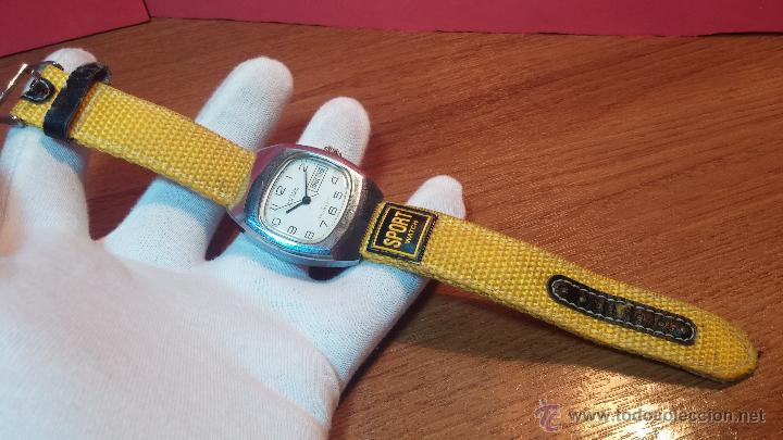 Relojes de pulsera: RELOJ RAKETA DE LA CCCP VINTAGE de CUERDA, IDEAL PARA USO DIARIO, Nº 2628-H - Foto 20 - 53737009