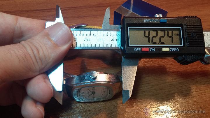 Relojes de pulsera: RELOJ RAKETA DE LA CCCP VINTAGE de CUERDA, IDEAL PARA USO DIARIO, Nº 2628-H - Foto 23 - 53737009
