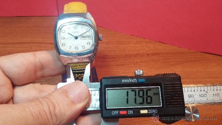 Relojes de pulsera: RELOJ RAKETA DE LA CCCP VINTAGE de CUERDA, IDEAL PARA USO DIARIO, Nº 2628-H - Foto 24 - 53737009