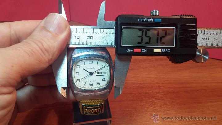 Relojes de pulsera: RELOJ RAKETA DE LA CCCP VINTAGE de CUERDA, IDEAL PARA USO DIARIO, Nº 2628-H - Foto 25 - 53737009