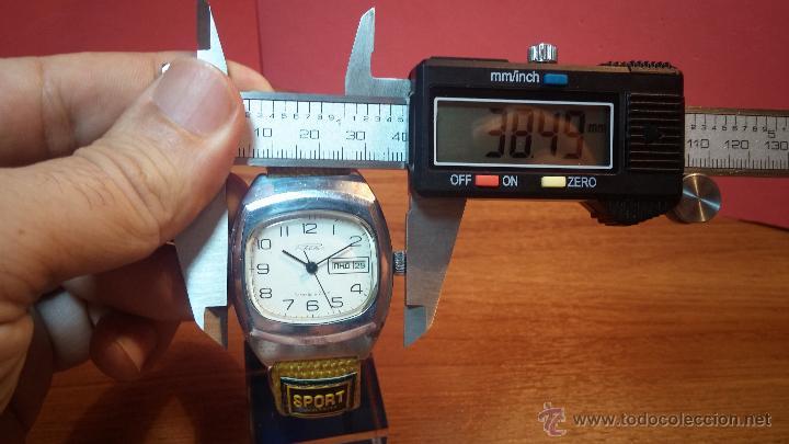 Relojes de pulsera: RELOJ RAKETA DE LA CCCP VINTAGE de CUERDA, IDEAL PARA USO DIARIO, Nº 2628-H - Foto 26 - 53737009