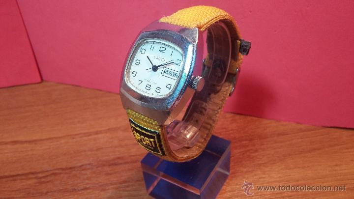 Relojes de pulsera: RELOJ RAKETA DE LA CCCP VINTAGE de CUERDA, IDEAL PARA USO DIARIO, Nº 2628-H - Foto 27 - 53737009