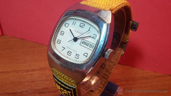 Relojes de pulsera: RELOJ RAKETA DE LA CCCP VINTAGE de CUERDA, IDEAL PARA USO DIARIO, Nº 2628-H - Foto 28 - 53737009