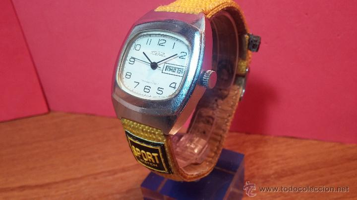 Relojes de pulsera: RELOJ RAKETA DE LA CCCP VINTAGE de CUERDA, IDEAL PARA USO DIARIO, Nº 2628-H - Foto 29 - 53737009