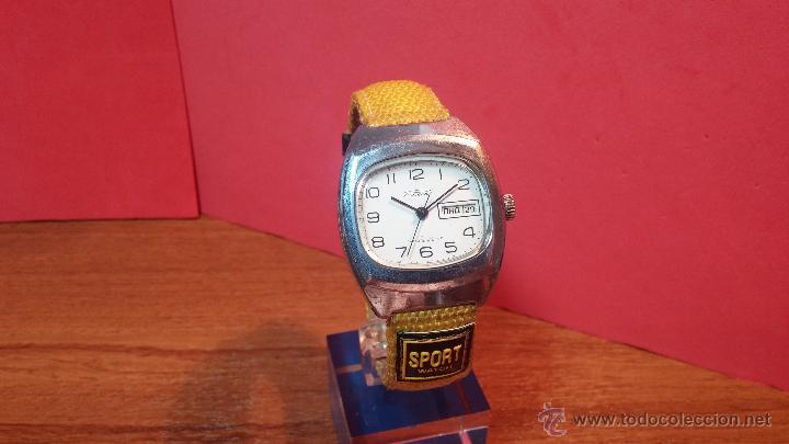 Relojes de pulsera: RELOJ RAKETA DE LA CCCP VINTAGE de CUERDA, IDEAL PARA USO DIARIO, Nº 2628-H - Foto 31 - 53737009