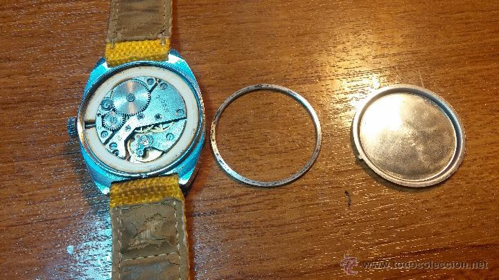Relojes de pulsera: RELOJ RAKETA DE LA CCCP VINTAGE de CUERDA, IDEAL PARA USO DIARIO, Nº 2628-H - Foto 32 - 53737009