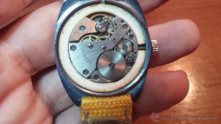 Relojes de pulsera: RELOJ RAKETA DE LA CCCP VINTAGE de CUERDA, IDEAL PARA USO DIARIO, Nº 2628-H - Foto 33 - 53737009