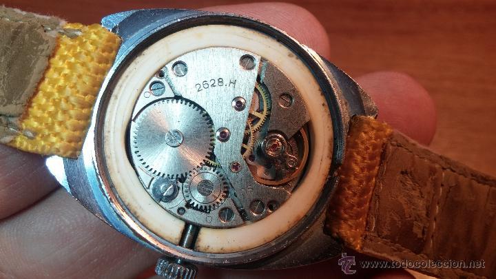 Relojes de pulsera: RELOJ RAKETA DE LA CCCP VINTAGE de CUERDA, IDEAL PARA USO DIARIO, Nº 2628-H - Foto 34 - 53737009