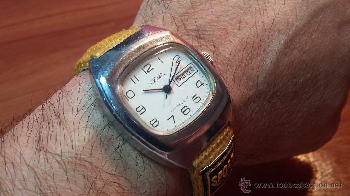 Relojes de pulsera: RELOJ RAKETA DE LA CCCP VINTAGE de CUERDA, IDEAL PARA USO DIARIO, Nº 2628-H - Foto 37 - 53737009
