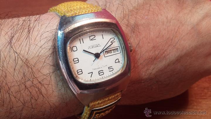 Relojes de pulsera: RELOJ RAKETA DE LA CCCP VINTAGE de CUERDA, IDEAL PARA USO DIARIO, Nº 2628-H - Foto 40 - 53737009