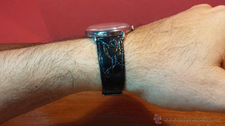 Relojes de pulsera: Raro reloj Certina Kurth Freres, calibre 330, de 15 rubíes y con UN muy curioso logo terminado en V - Foto 2 - 53754493