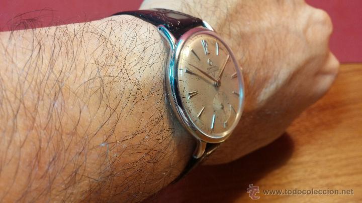 Relojes de pulsera: Raro reloj Certina Kurth Freres, calibre 330, de 15 rubíes y con UN muy curioso logo terminado en V - Foto 21 - 53754493