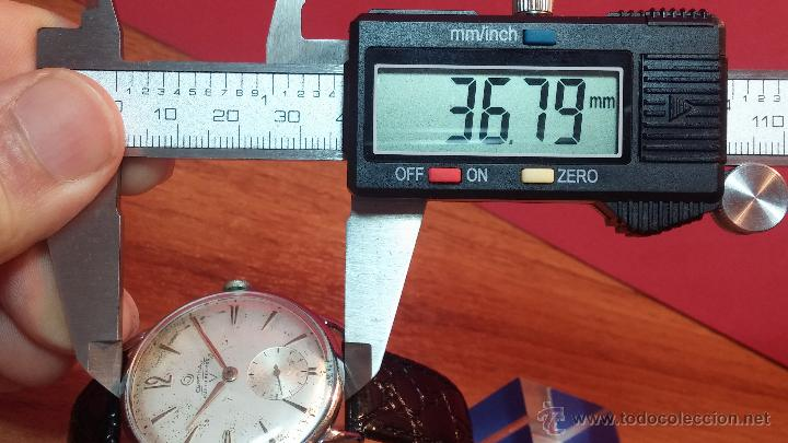 Relojes de pulsera: Raro reloj Certina Kurth Freres, calibre 330, de 15 rubíes y con UN muy curioso logo terminado en V - Foto 26 - 53754493