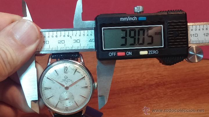 Relojes de pulsera: Raro reloj Certina Kurth Freres, calibre 330, de 15 rubíes y con UN muy curioso logo terminado en V - Foto 28 - 53754493