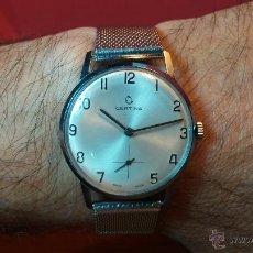 Relojes de pulsera: RELOJ VINTAGE CERTINA DE CUERDA, DEL ESCASO CALIBRE 28-10, DE 17 RUBÍS, COMO NUEVO. Lote 53775422