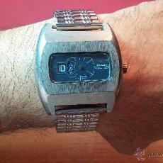 Relojes de pulsera: RELOJ SUIZO BULER SUPER NOVA, AÑOS 70, DE LOS PRIMEROS DIGITALES DE CARGA MANUAL. Lote 54149938