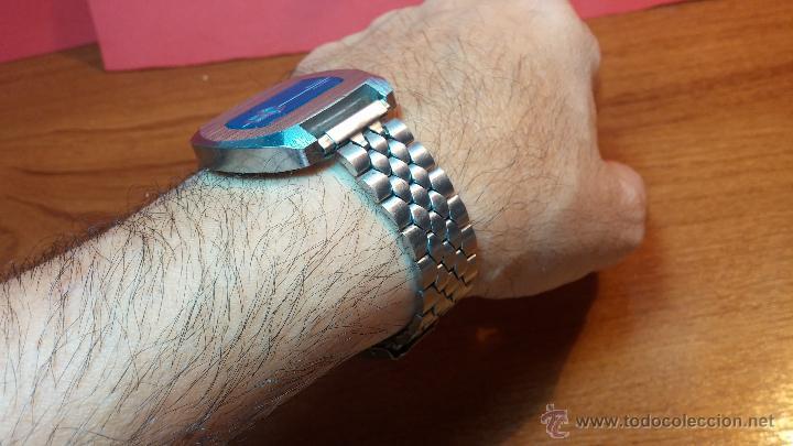 Relojes de pulsera: Reloj Suizo NILDA de cuerda DIGITAL, años 70, de los primeros digitales de carga manual - Foto 6 - 66126355