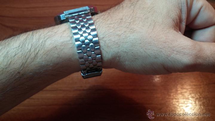 Relojes de pulsera: Reloj Suizo NILDA de cuerda DIGITAL, años 70, de los primeros digitales de carga manual - Foto 11 - 66126355
