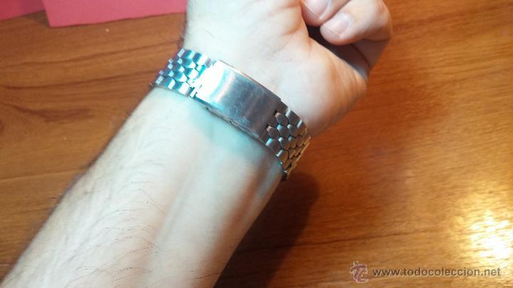 Relojes de pulsera: Reloj Suizo NILDA de cuerda DIGITAL, años 70, de los primeros digitales de carga manual - Foto 12 - 66126355