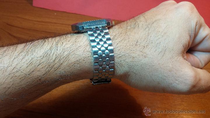 Relojes de pulsera: Reloj Suizo NILDA de cuerda DIGITAL, años 70, de los primeros digitales de carga manual - Foto 16 - 66126355