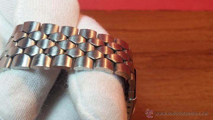 Relojes de pulsera: Reloj Suizo NILDA de cuerda DIGITAL, años 70, de los primeros digitales de carga manual - Foto 23 - 66126355
