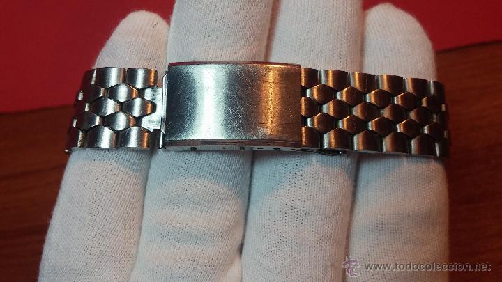 Relojes de pulsera: Reloj Suizo NILDA de cuerda DIGITAL, años 70, de los primeros digitales de carga manual - Foto 24 - 66126355