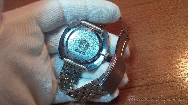 Relojes de pulsera: Reloj Suizo NILDA de cuerda DIGITAL, años 70, de los primeros digitales de carga manual - Foto 28 - 66126355