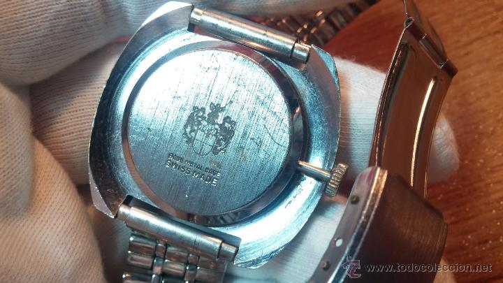 Relojes de pulsera: Reloj Suizo NILDA de cuerda DIGITAL, años 70, de los primeros digitales de carga manual - Foto 30 - 66126355