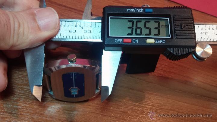 Relojes de pulsera: Reloj Suizo NILDA de cuerda DIGITAL, años 70, de los primeros digitales de carga manual - Foto 37 - 66126355