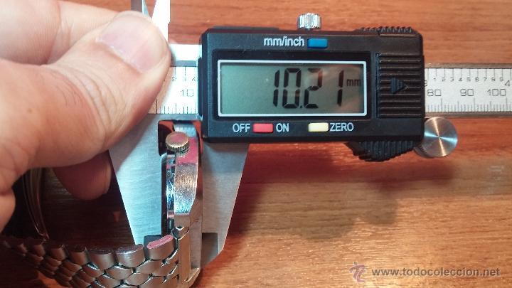 Relojes de pulsera: Reloj Suizo NILDA de cuerda DIGITAL, años 70, de los primeros digitales de carga manual - Foto 39 - 66126355
