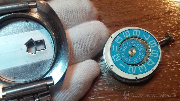 Relojes de pulsera: Reloj Suizo NILDA de cuerda DIGITAL, años 70, de los primeros digitales de carga manual - Foto 57 - 66126355
