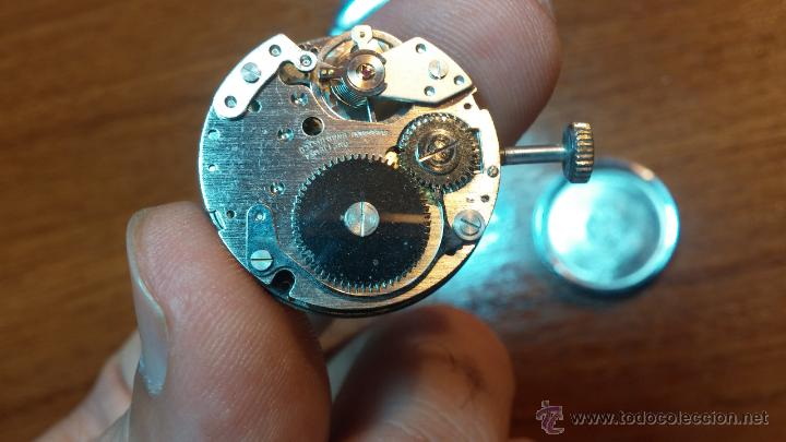 Relojes de pulsera: Reloj Suizo NILDA de cuerda DIGITAL, años 70, de los primeros digitales de carga manual - Foto 60 - 66126355
