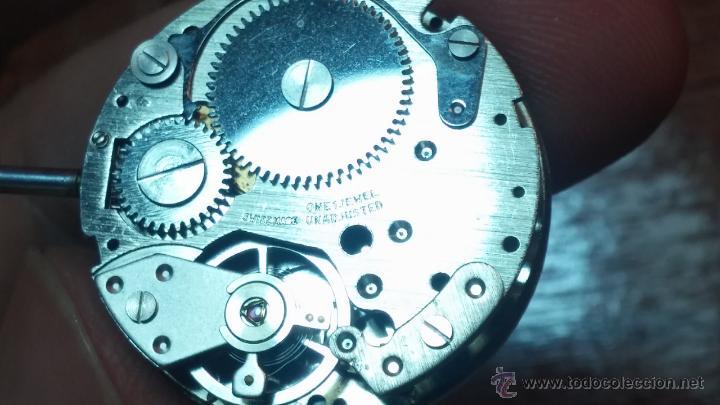 Relojes de pulsera: Reloj Suizo NILDA de cuerda DIGITAL, años 70, de los primeros digitales de carga manual - Foto 64 - 66126355