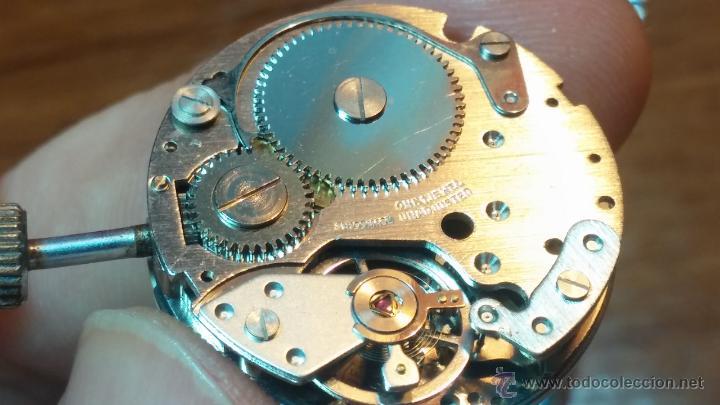 Relojes de pulsera: Reloj Suizo NILDA de cuerda DIGITAL, años 70, de los primeros digitales de carga manual - Foto 67 - 66126355