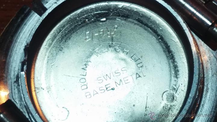Relojes de pulsera: Reloj Suizo NILDA de cuerda DIGITAL, años 70, de los primeros digitales de carga manual - Foto 68 - 66126355