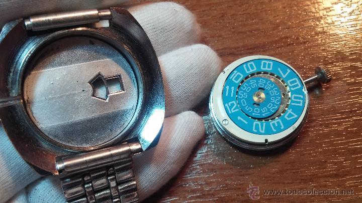 Relojes de pulsera: Reloj Suizo NILDA de cuerda DIGITAL, años 70, de los primeros digitales de carga manual - Foto 70 - 66126355