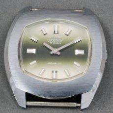 Relojes de pulsera: RELOJ A CUERDA VANROY 17 RUBIS INCABLOC ESFERA VERDE FUNCIONA. Lote 54389497