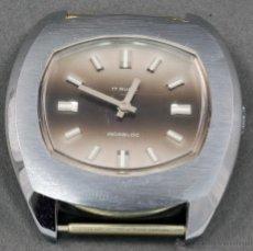 Relojes de pulsera: RELOJ A CUERDA VANROY 17 RUBIS INCABLOC ESFERA GRIS FUNCIONA. Lote 54389551